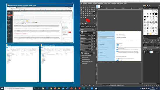 Cómo dividir la pantalla en dos o más partes para Windows 10 2
