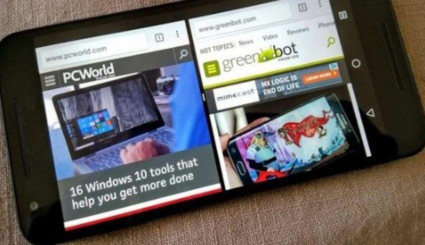 Cómo dividir la pantalla de Android en dos partes