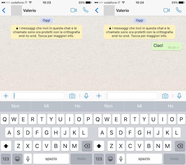 Cómo enviar mensajes de WhatsApp