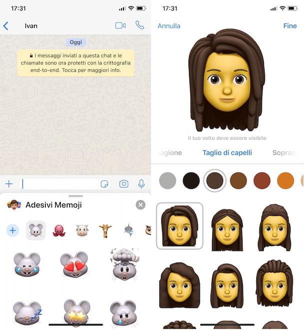 Cómo usar Memoji en Whatsapp en iPhone