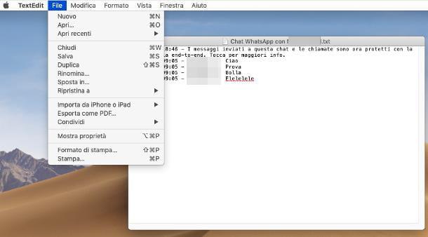 Cómo imprimir mensajes de WhatsApp en PC